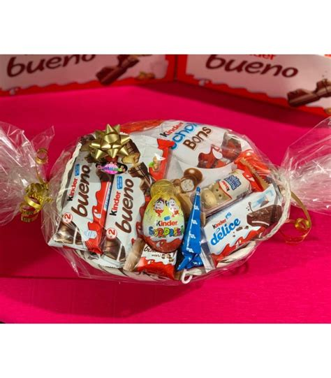 CESTA KINDER DE MIMBRE MEDIANA. CHUCHES Y DECORACION ...