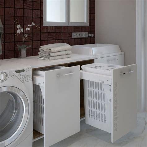 Cesto ropa Blanco 45 en 2020 | Mueble para lavadero ...
