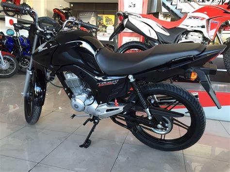 Cg Titan 2019 0km Honda 150 Roja Azul Nueva Moto Sur ...