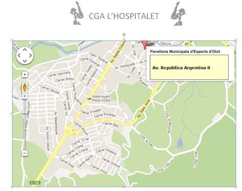 CGA L´HOSPITALET: MAPAS DE PABELLONES
