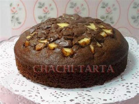 CHACHI TARTA: Bizcocho de chocolate con manzana  sin ...