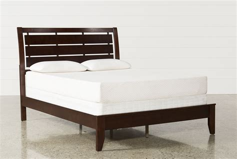 Chad Full Panel Bed   Living Spaces