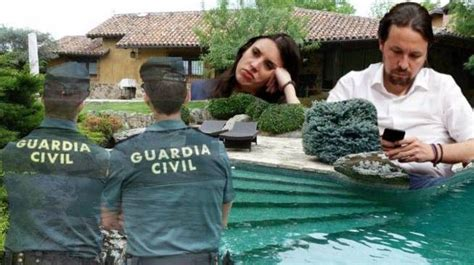 Chalet Pablo Iglesias aflora otras garitas Guardia Civil ...