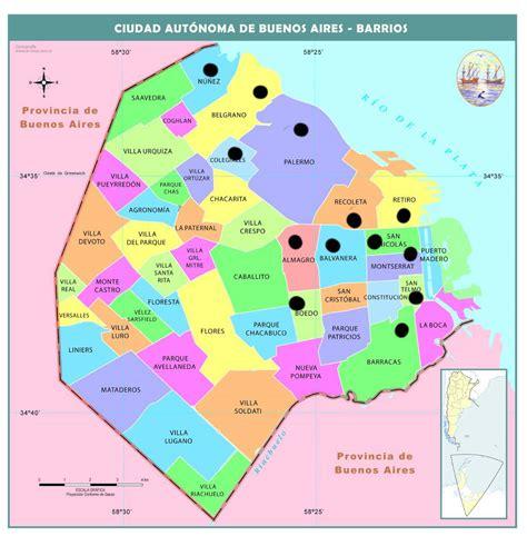 Chamos En Argentina: Zonas donde vivir  Capital Federal