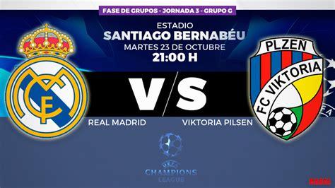 Champions 2018 19: Real Madrid vs Viktoria Plzen: horario ...