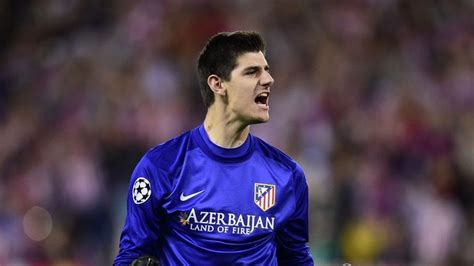 Champions League: Atletico Madrid keeper Thibaut Courtois ...