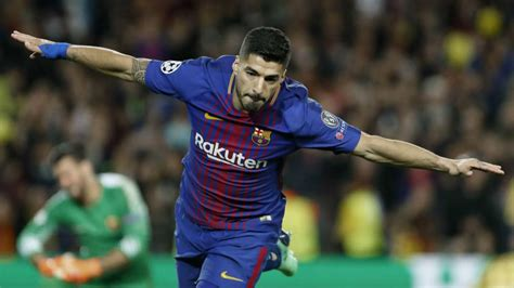 Champions League   Barcelona 4 1 Roma: Luis Suarez ...