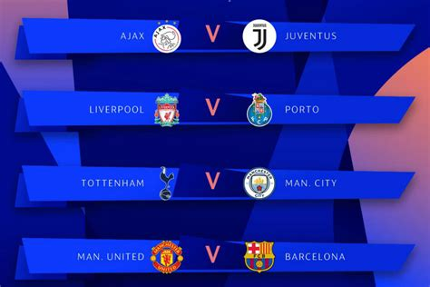 Champions League: Man United to face Barcelona in ...