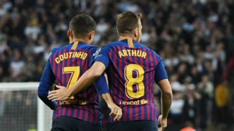 Champions League   Tottenham vs Barcelona: Arthur proves a ...