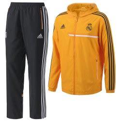 Chándal Real Madrid Naranja | Adidas chándal Real Naranja ...