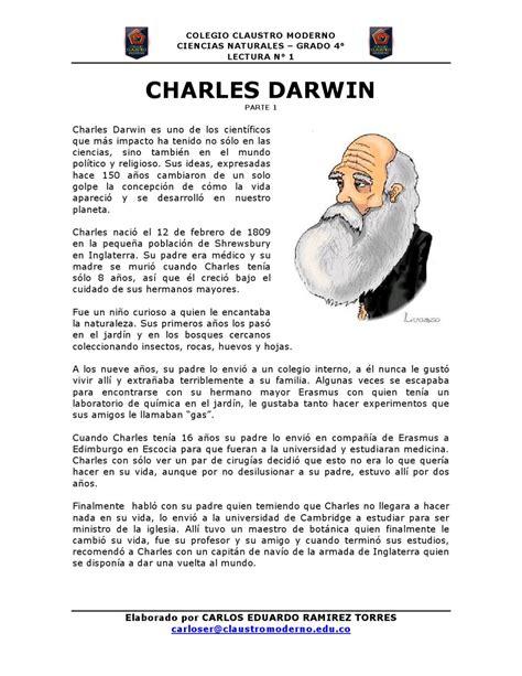 CHARLES DARWIN by Carlos Eduardo Ramirez   Issuu