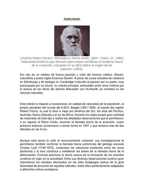 Charles Darwin | Charles Darwin | Science