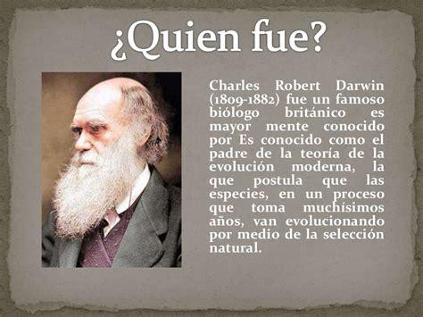 Charles Darwin y sus aportes científicos
