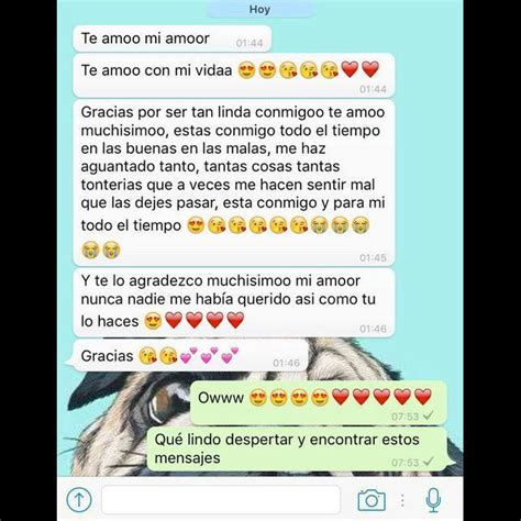Chats de amor de Whatsapp para enamorar, para mi novio y ...