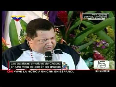 Chávez pide a Cristo No me lleves todavía CNN en Español ...