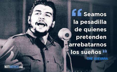 Che Guevara, las 12 frases que mejor definen su pensamiento