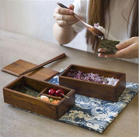 Cheap Ambiental caja de almuerzo de madera de estilo ...