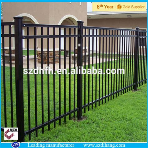 Cheap Decorative Wrought Iron Fence Designs/post And Rail ...