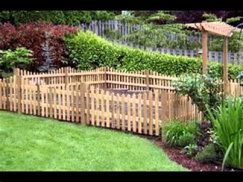 Cheap garden fencing ideas   YouTube