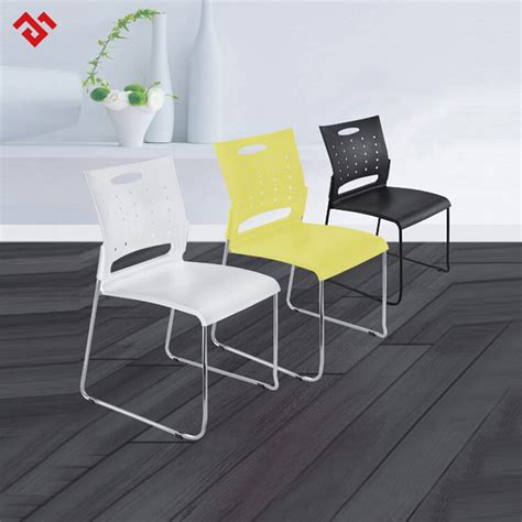 Cheap White Stacking Durable Plastic School Chair   Buy ...
