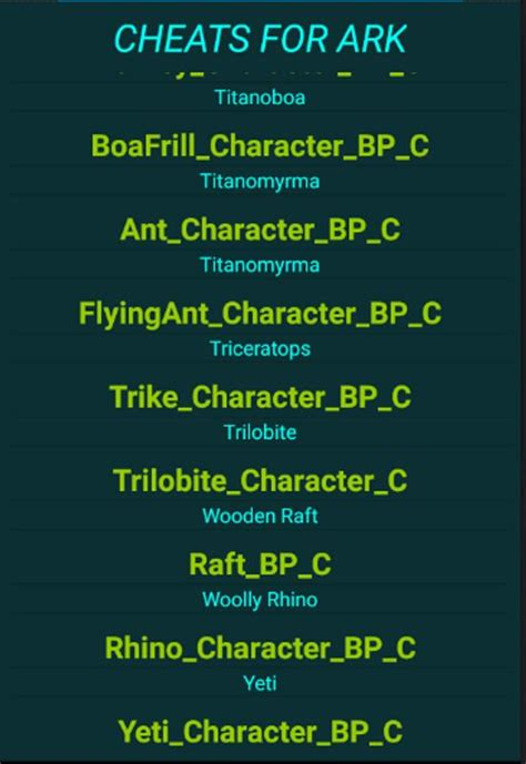 Cheats Ark Survival Evolved APK Baixar   Grátis ...