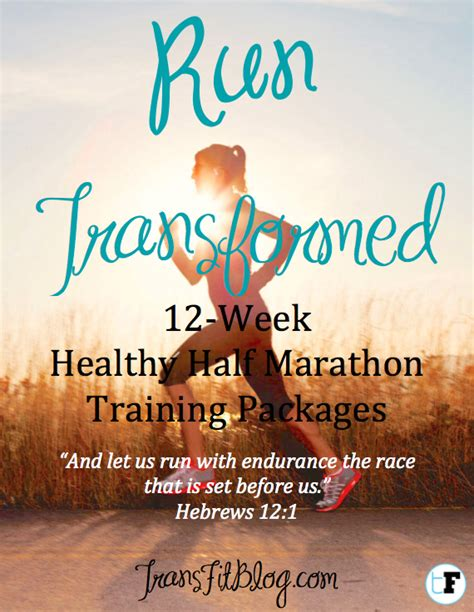 Check out the awesome Run Transformed Healthy Training ...