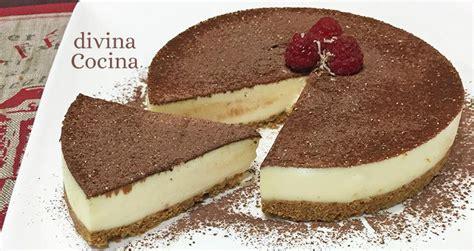 Cheesecake de chocolate blanco sin horno   Divina Cocina