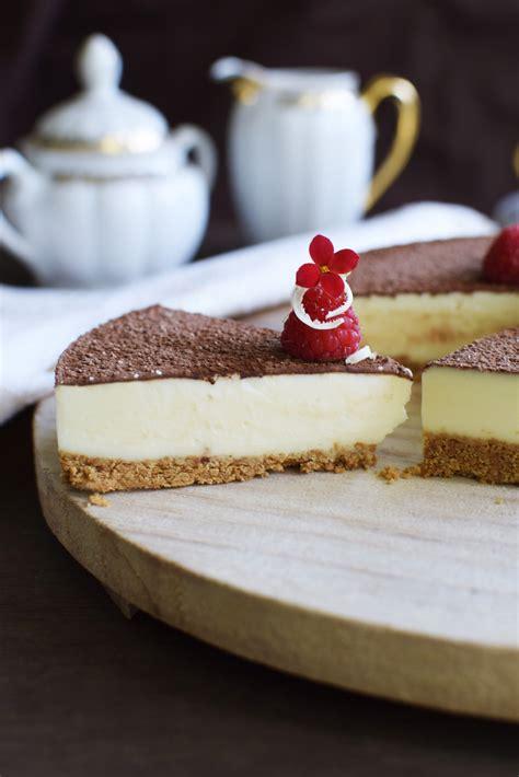 Cheesecake de Chocolate Blanco  Sin Horno    Lavanda Cakes