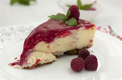 CHEESECAKE DE CHOCOLATE BLANCO Y FRAMBUESAS   Sweet And Sour