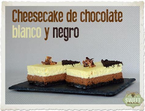 Cheesecake de chocolate blanco y negro | Cocina