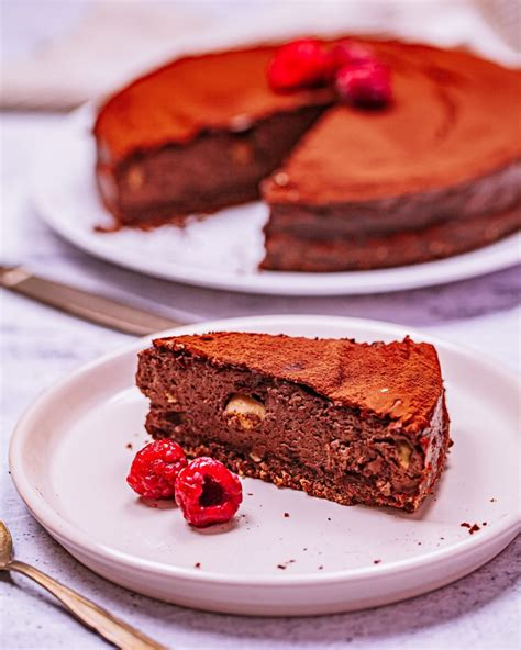 Cheesecake de chocolate sin azúcar: tarta saludable ...