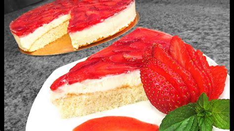 Cheesecake de Fresa y Chocolate Blanco   YouTube