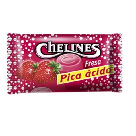 Chelines Fresa Pica de El Turco   TodoChuches