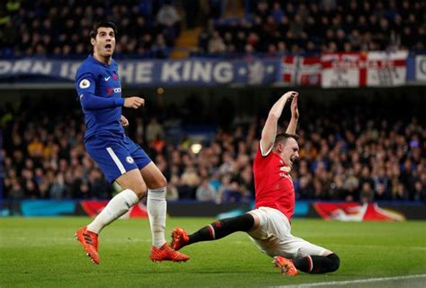 Chelsea 1 0 Manchester United AS IT HAPPENED: Jose ...