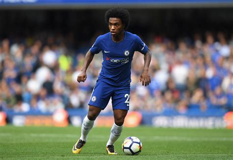 Chelsea fans try to upsell  world class  Willian to Barcelona