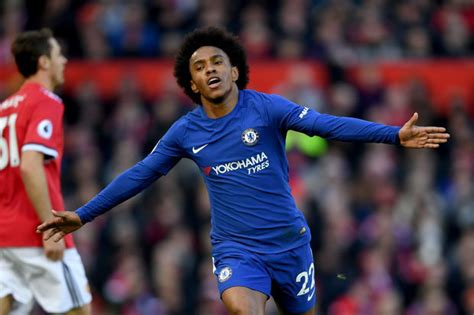 Chelsea star Willian would play for Manchester City ...