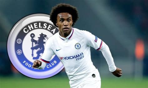 Chelsea to open Willian contract talks as Frank Lampard ...