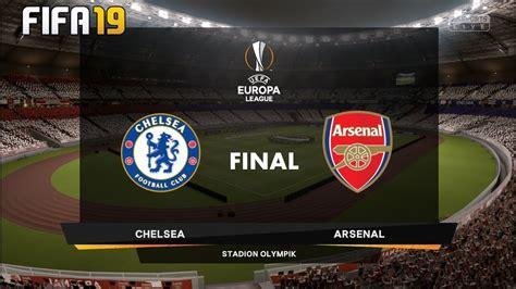 Chelsea Vs Arsenal ! FIFA 19 Prediction ! UEFA EUROPA ...