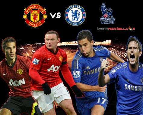 Chelsea Vs Manchester United 19 01 2014 Match Preview Time ...