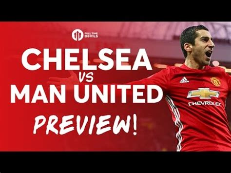 Chelsea vs Manchester United | LIVE FA CUP PREVIEW   YouTube