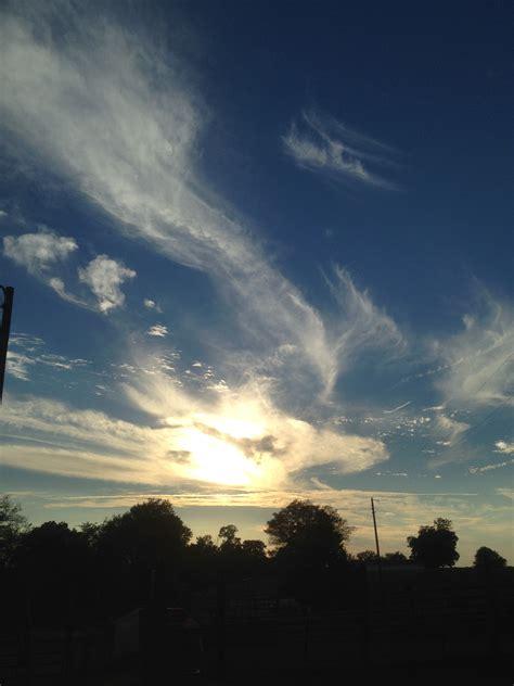 ChemTrails ConTrails Blue Sky in NE Texas | LisaInTX Blog