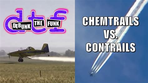 Chemtrails Vs Contrails   Debunk The Funk #6   YouTube
