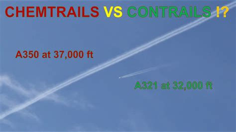 Chemtrails VS Contrails !?   YouTube