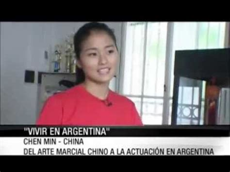 Chen Min en  Vivir en Argentina  Parte 1   YouTube