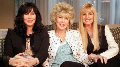 Cher, 67 with her mom, 86 and her sister | We are Family ...