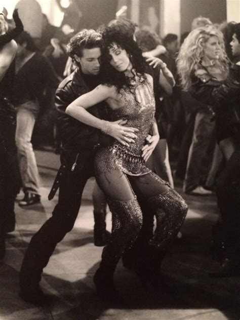 Cher, from the 1980's  I Found Someone  video shoot.  With ...
