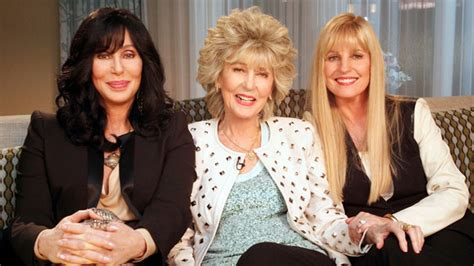 Cher on Access Hollywood with Mom and Sister