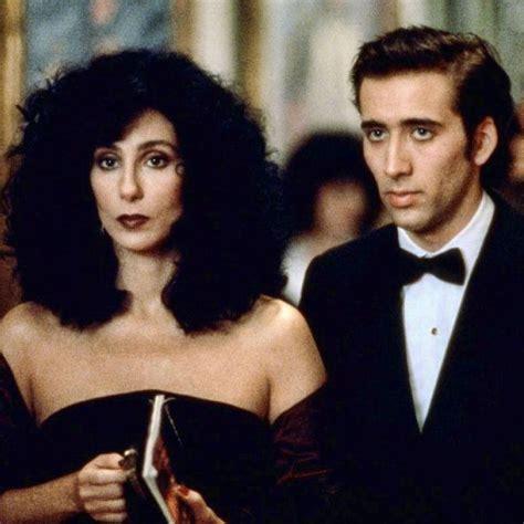 Cher y Nicolas Cage en  Hechizo de Luna   Moonstruck ...