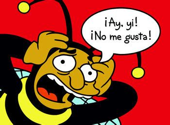 Chespirito, inspiration for The Simpsons  Bumblebee Man ...