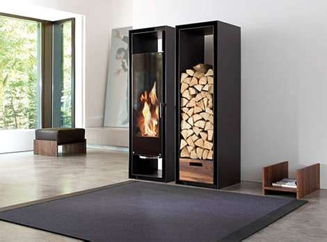 Chic Cabinet Fireplaces: The Conmoto  Gate  Fireplace is ...